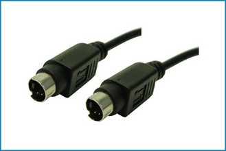 Cable S-Video con conectores mini DIN 4PIN