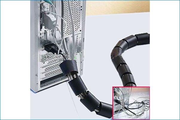 Organizadores de cables espiral - Tubos para cables ...
